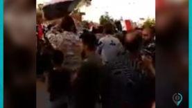 شبيـ ـحة النظام يرقصون على أغاني الأعراس وهتافات للأسد