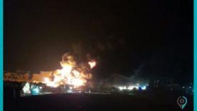 انفجار عبوة ناسفة داخل سوق المازوت في مدينة الباب بريف حلب