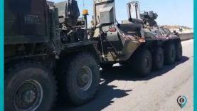 انفجار عبوة ناسفة بعربة عسكرية روسية على طريقM4 بريف إدلب