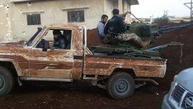 استهداف حاجز المغير بريف حماه الشمالي بالرشاشات الثقيلة