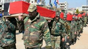 The regime forces lose a number of their elements, between them is a leader and a brigadier general, in different areas