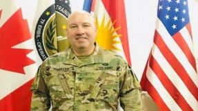 The coalition spokesman denies that the coalition launched air strikes in Albu-kamal