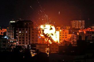 هل شاركت الطائرات الحربية الإماراتية في قصف غزة ؟