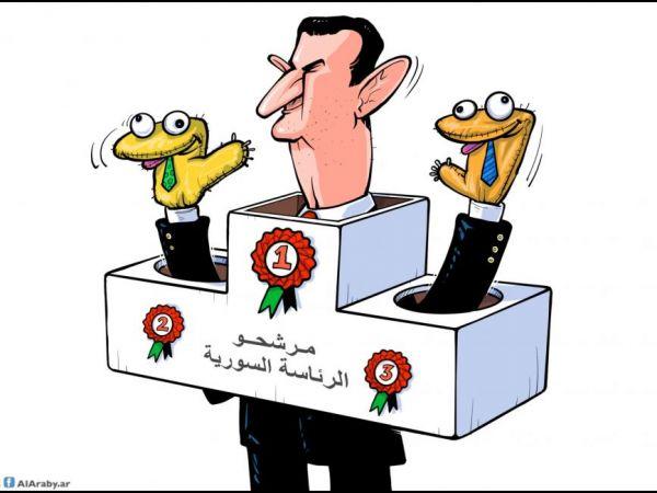 بشعارات مثيرة للسخرية..مرشحو الرئاسة في سوريا يطلقون حملاتهم الانتخابية