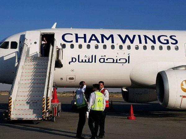 بالفيديو: حالات إغماء وغضب بسبب انقطاع التكييف في طائرة أجنحة الشام