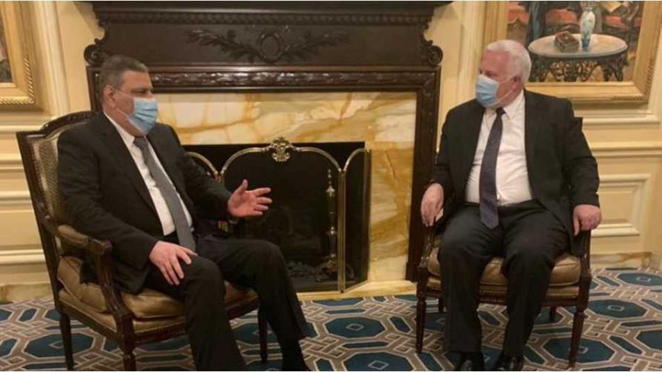 حجاب يجتمع  للمرة ثانية  خلال يومين مع  مسؤولين أمريكيين  في واشنطن