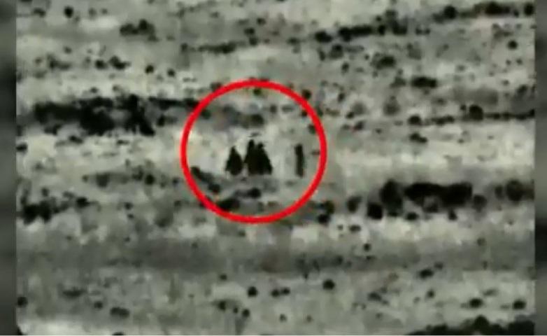 بالفيديو.. إسرائيل تقتل أشخاصاً  خلال زراعتهم عبوة ناسفة على الحدود السورية