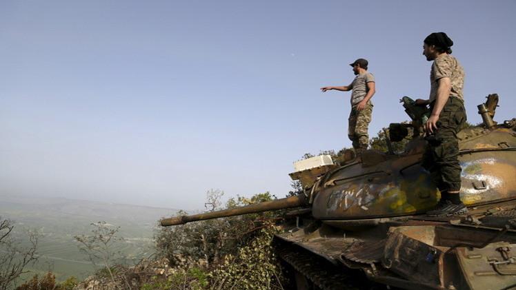 عشرات القتلى والجرحى للنظام في كمين على محور الحدادة بريف اللاذقية (صور)