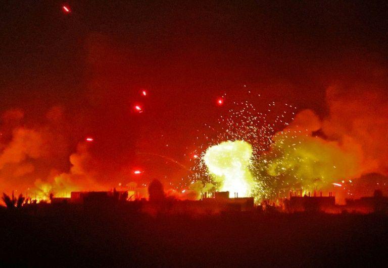 إسرائيل تعلن قصف مواقع عسكرية في القنيطرة والنظام يؤكد تصدي دفاعاته الجوية للغارات
