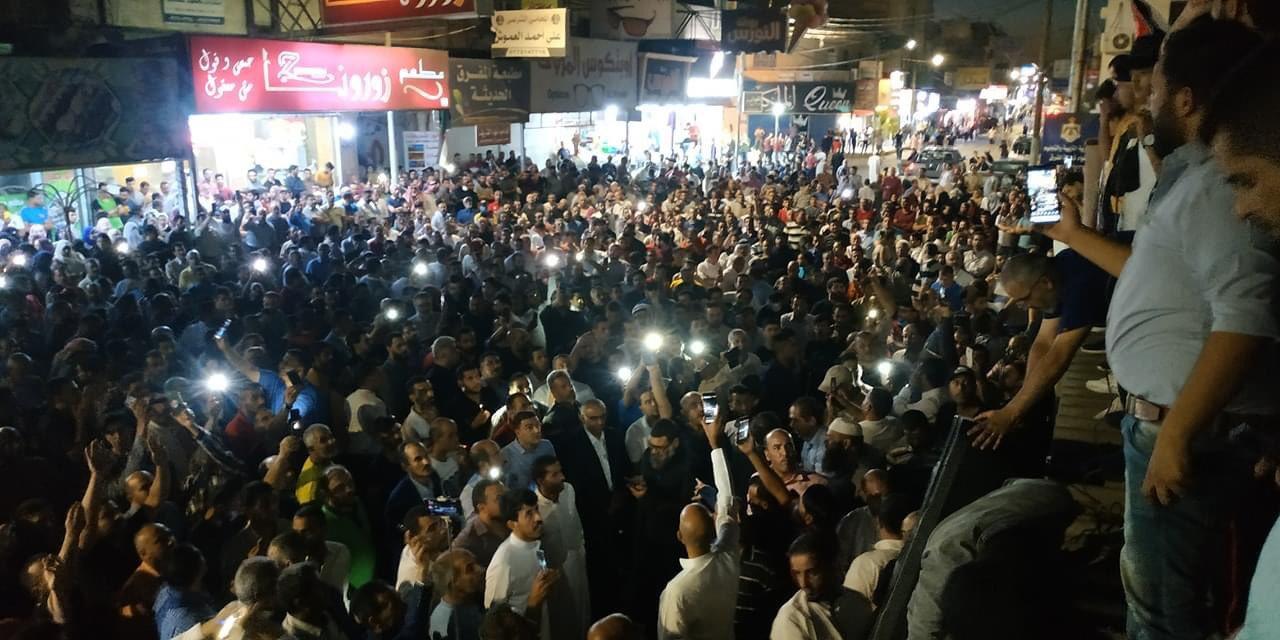 المظاهرات في الأردن تتصاعد ومطالبها تتسع والحكومة تعتقل المعلمين