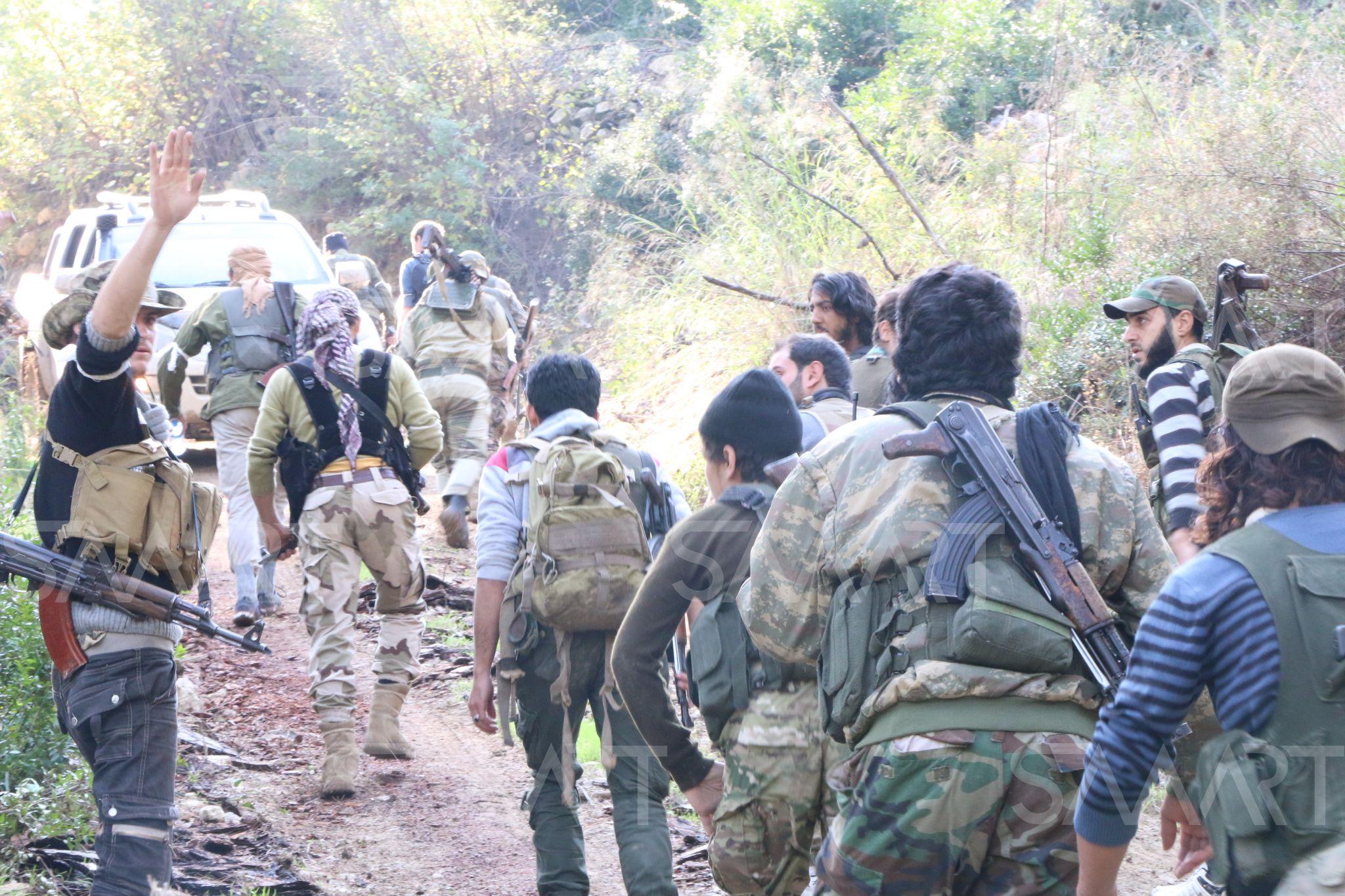 الفصائل الثورية تقتل وتجرح عناصر مجموعة للنظام  حاولت التقدم على محور الفطيرة بريف ادلب