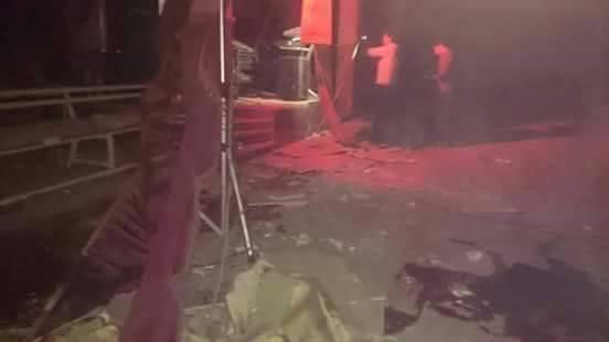 جرحى في انفجار قنبلة يدوية وسط عرس بمدينة رأس العين (فيديو)