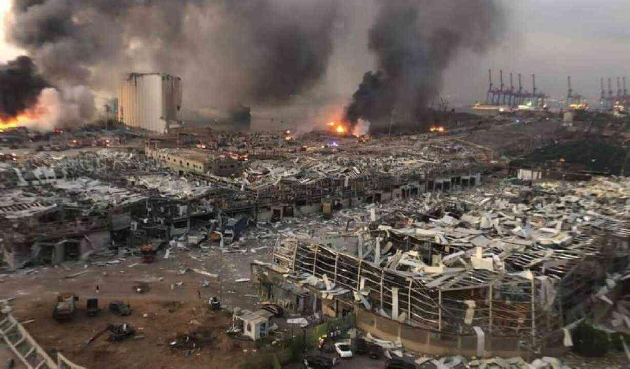 """شركة متفجرات تعلّق على """"نترات الأمونيوم"""" التي أحدثت انفجار بيروت"""