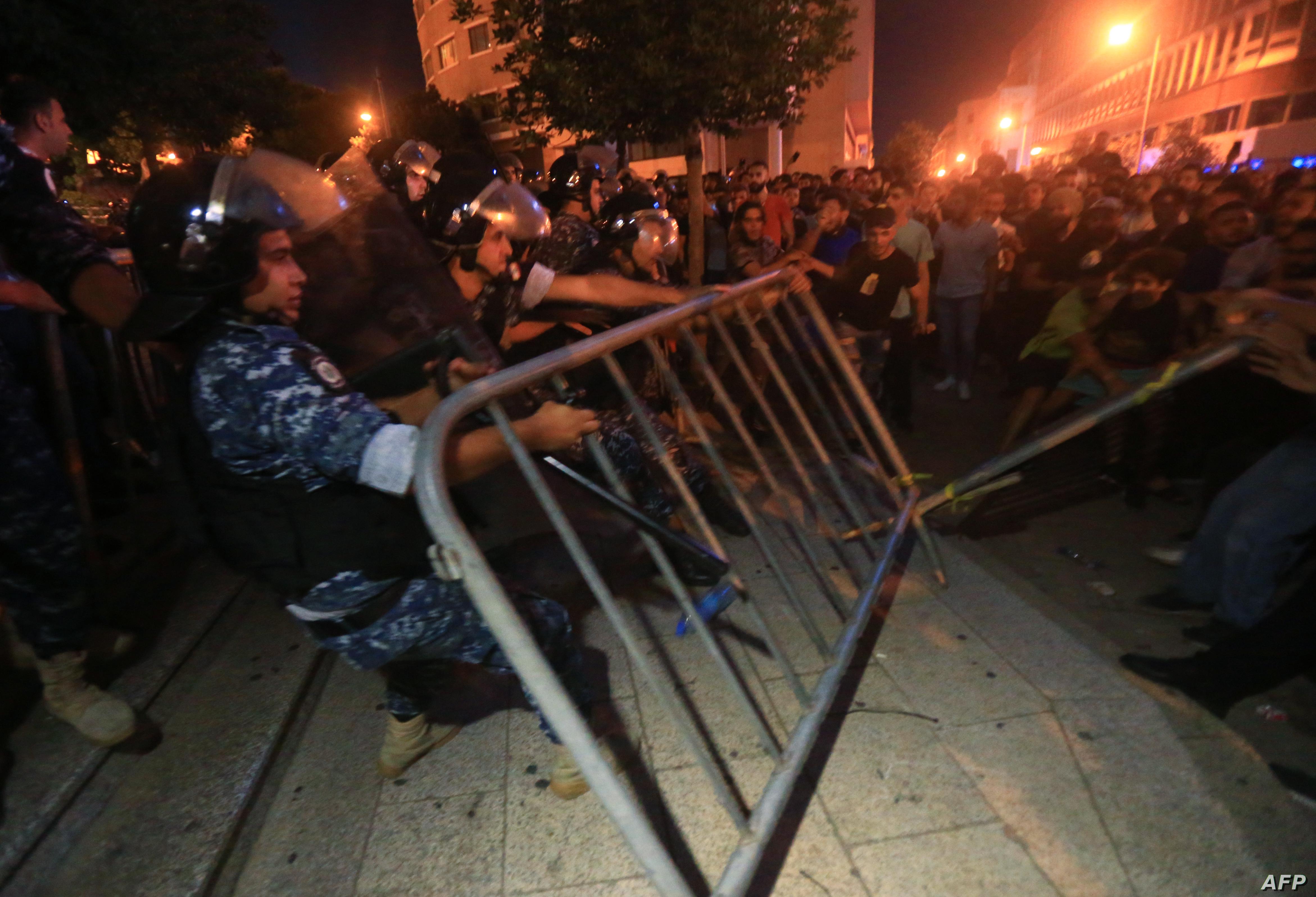 قوى الأمن اللبنانية  تعلن فقدان  مجند وإصابة أكثر من 70 آخرين خلال اشتباكات في بيروت