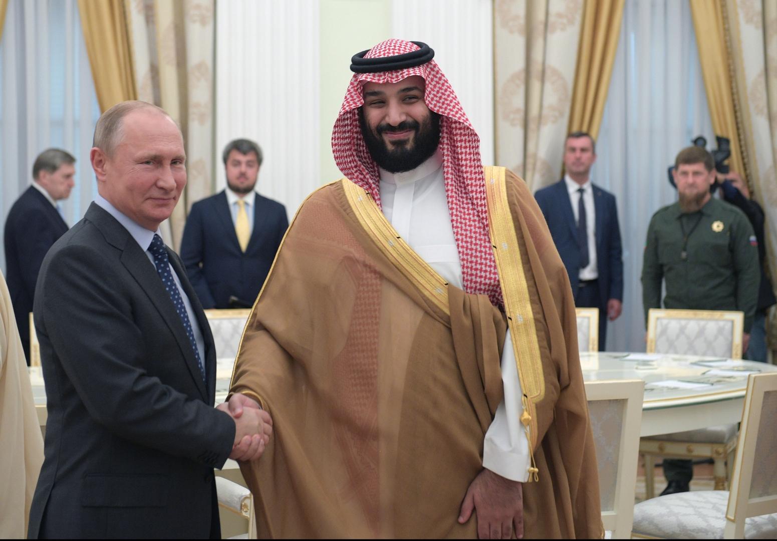 موقع روسي: بن سلمان شجع حرب بوتين في سوريا ودعمها سراً
