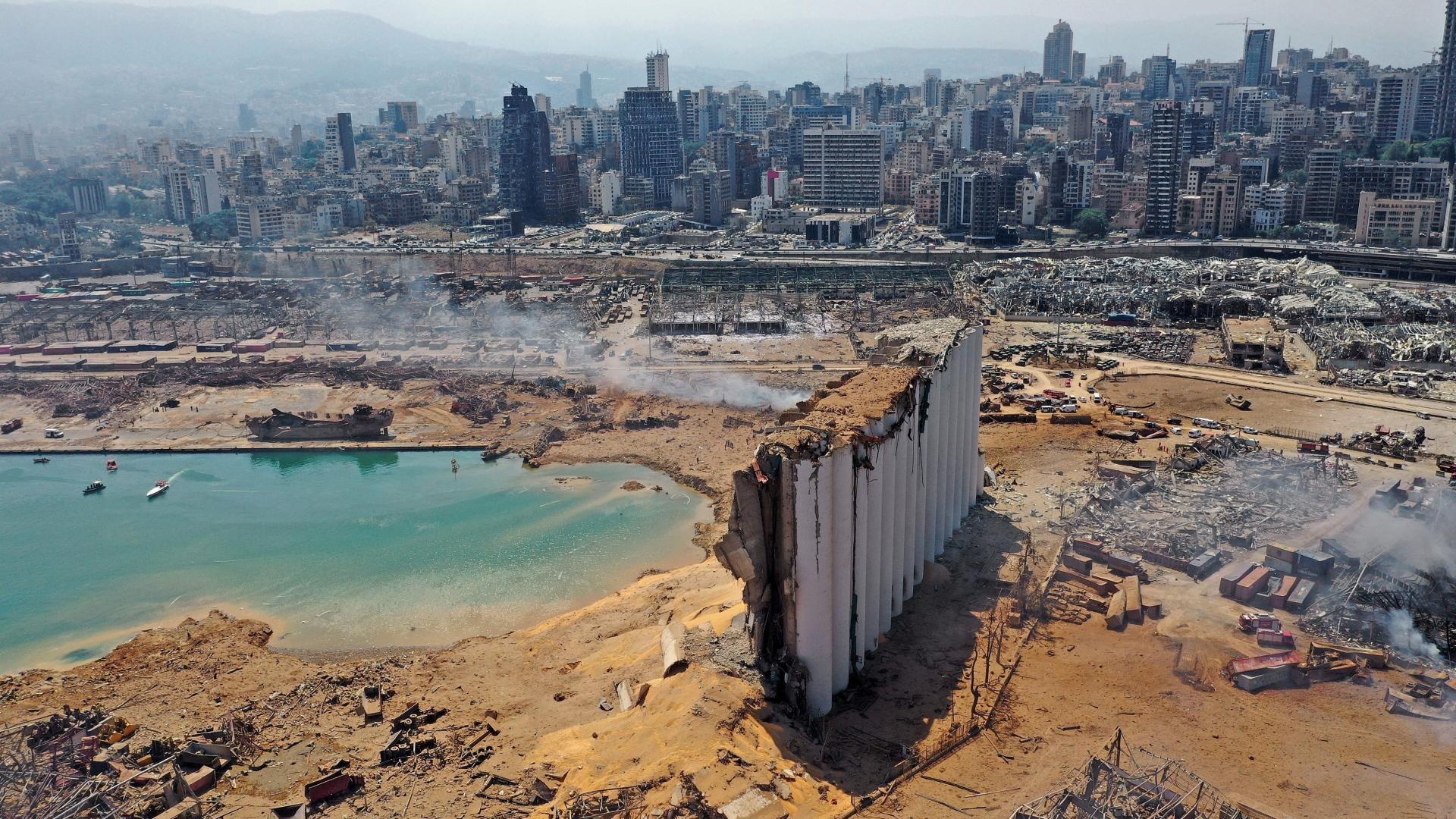 خبير روسي: لو بقيت كميات النترات كما هي  لدمرت  بيروت بأكملها