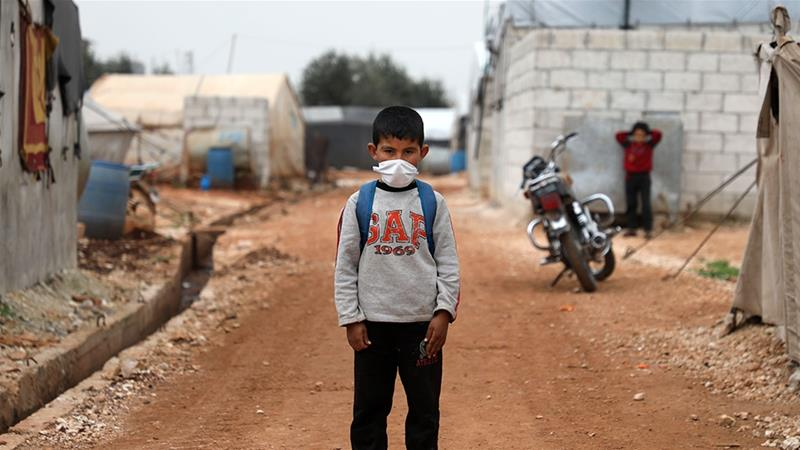 لأول مرة.. فيروس كورونا يضرب مخيمات النازحين في الشمال السوري