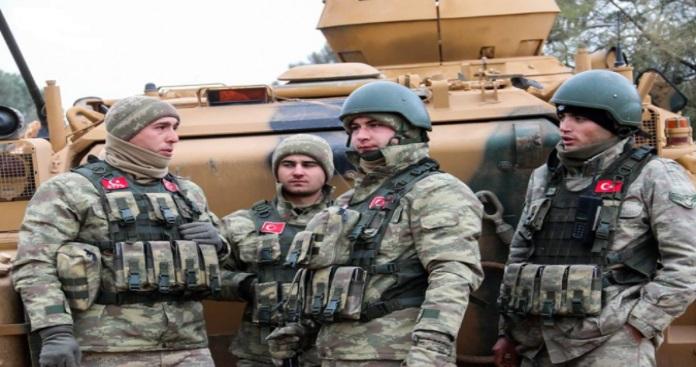 """تركيا تعتقل عنصرين من قسد في منطقة """"غصن الزيتون"""""""