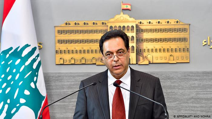 عاجل .. حسان دياب يقدم استقالة حكومته