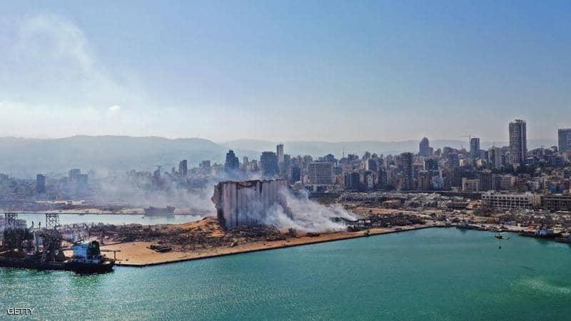انتشال 5 جثث من مرفأ بيروت يرفع إجمالي القتلى إلى 163