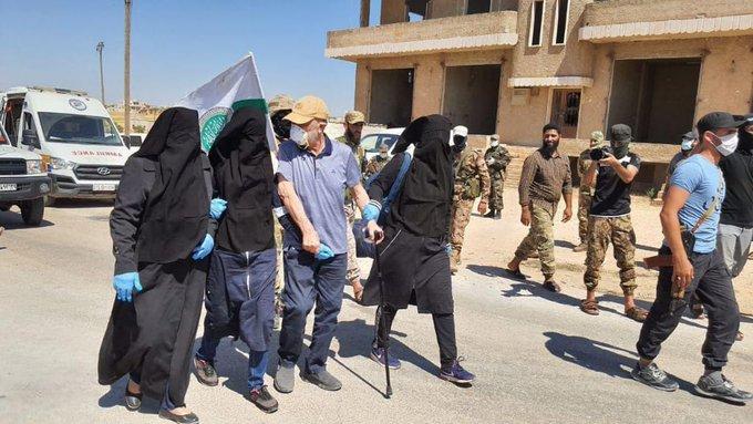 الإفراج عن 7 أسيرات.. إتمام عملية تبادل أسرى في إدلب