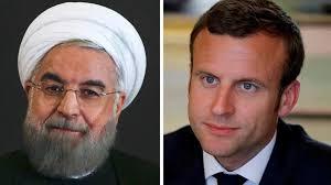 ماكرون يطلب من روحاني وقف التدخل في لبنان
