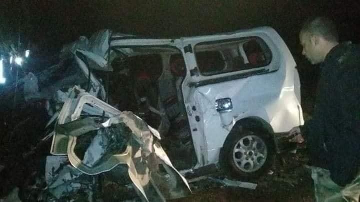حادث سير مروع يودي بحياة 7 أشخاص وإصابة 16 على طريق حمص – تدمر