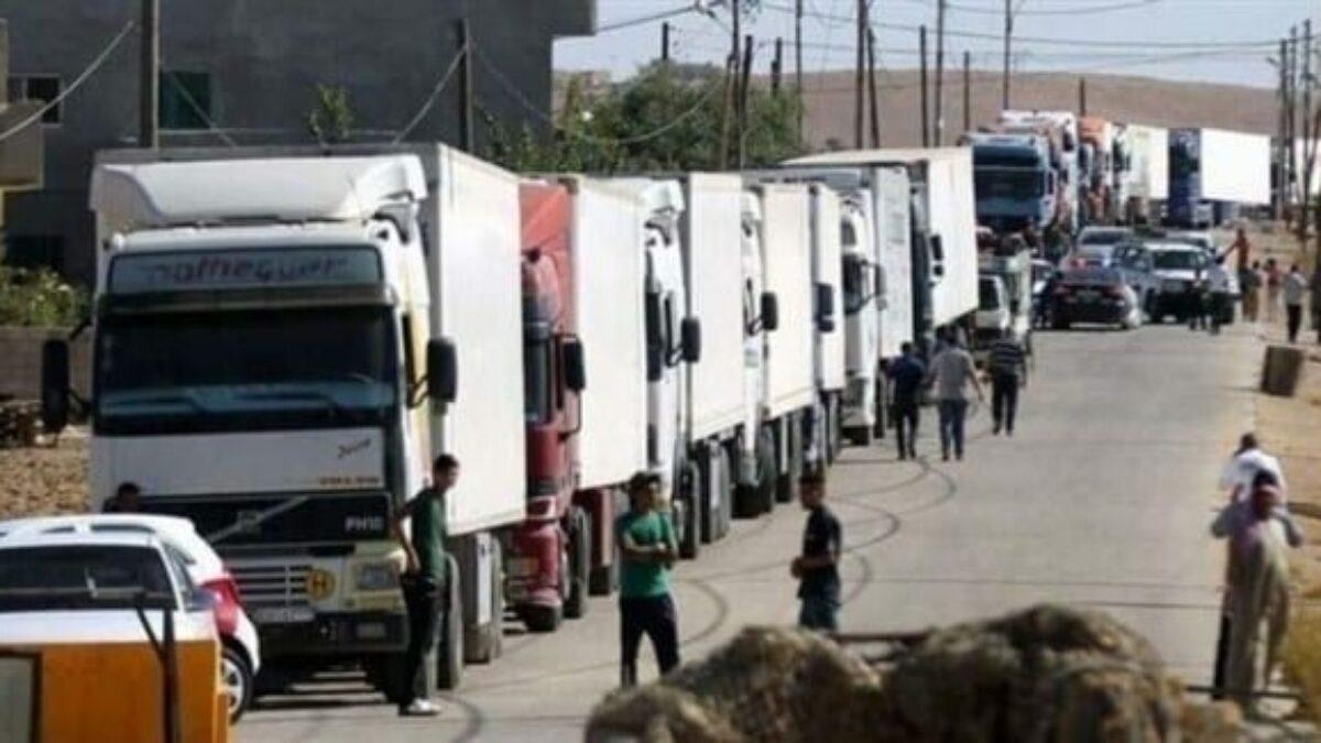 الأردن يفرض 2000 دولار على عبور كل شاحنة سورية إلى الخليج