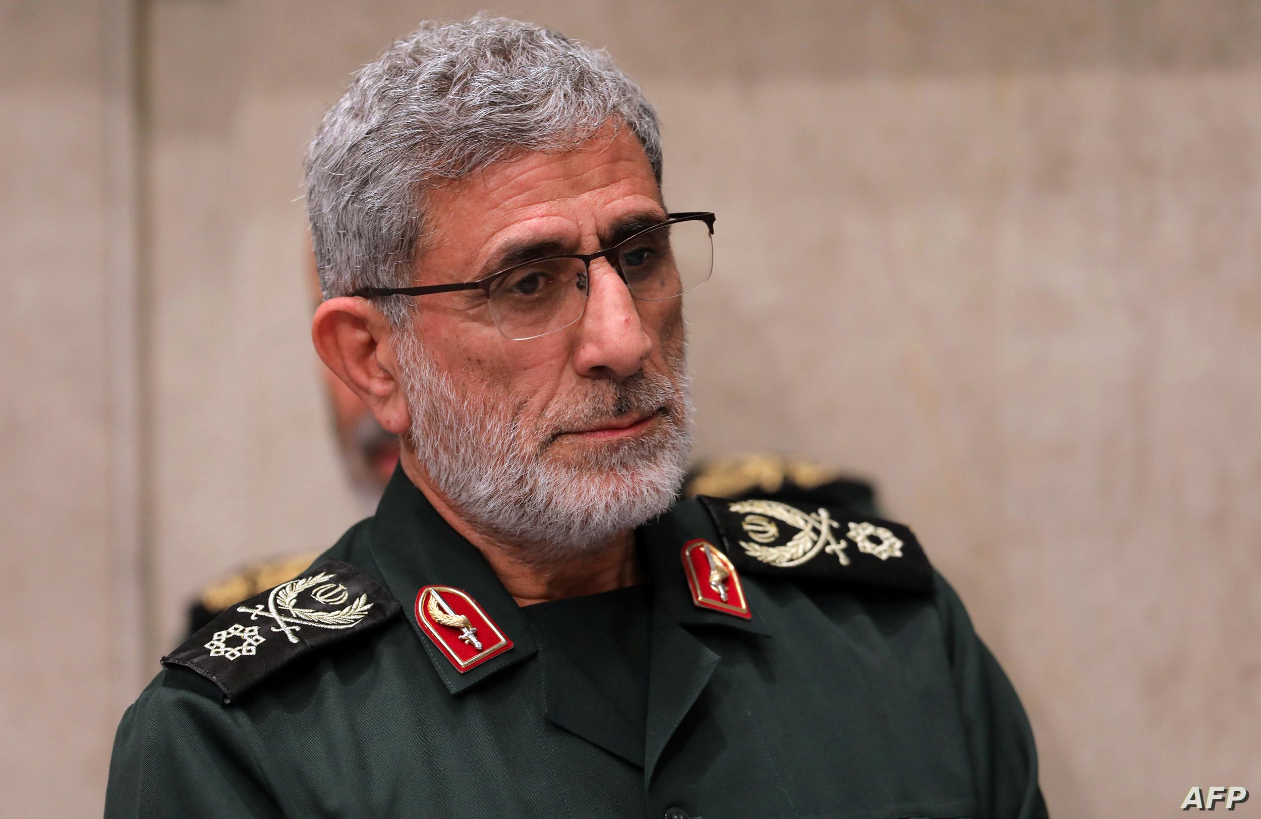 """لضبط الميليشيات .. قائد الحرس الثوري """"إسماعيل قاآني"""" يزور حمص ودير الزور"""