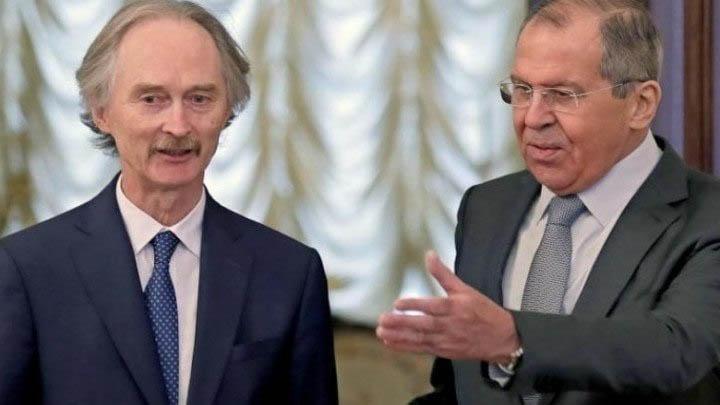 بيدرسون يبحث مع المسؤولين الروس اللجنة الدستورية السورية