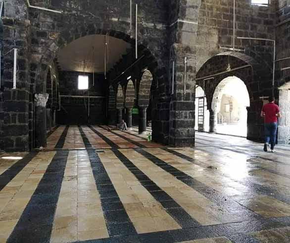 الأذان عاد يصدح من جديد في المسجد العمري بدرعا البلد