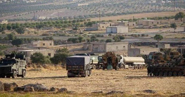 تركيا تنشئ نقطة عسكرية في قرية بليون في جبل الزاوية