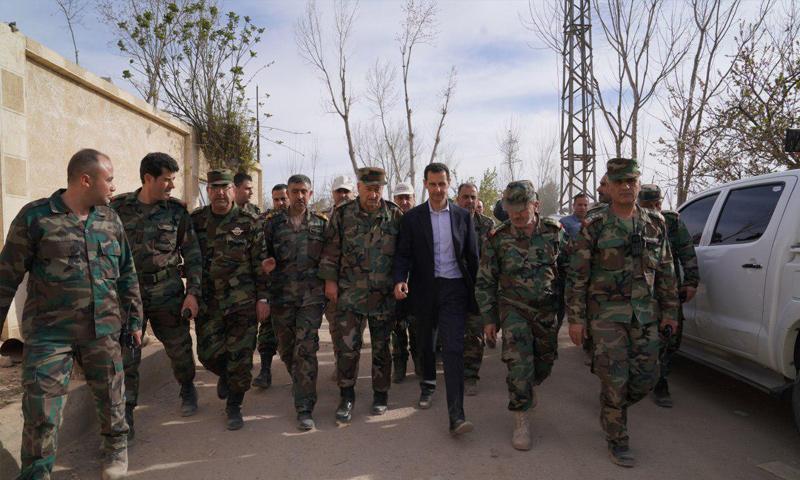 بإيعاز منها..الأسد يسند المسؤولية الأمنية جنوب سوريا لضابط مقرب من إيران