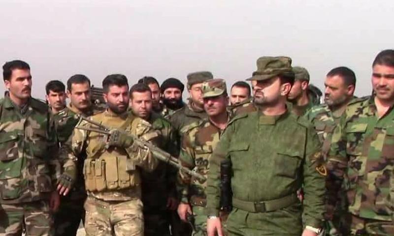بقيادة النمر _ قوات النظام تستعد لهجوم كبير ضد تنظيم الدولة