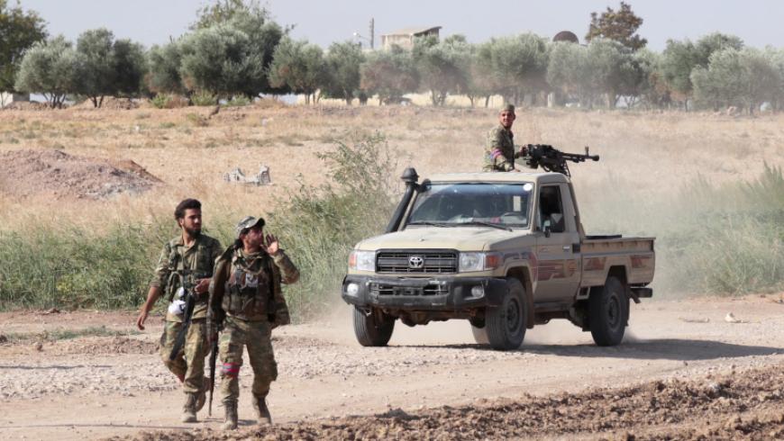 بالفيديو...عملية انغماسيه للجيش الوطني السوري على مواقع قسد
