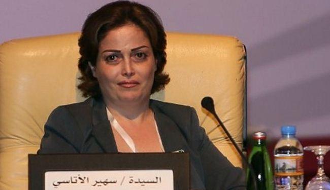 سهير الاتاسي تشن هجوما على الائتلاف ومفوضية الانتخابات