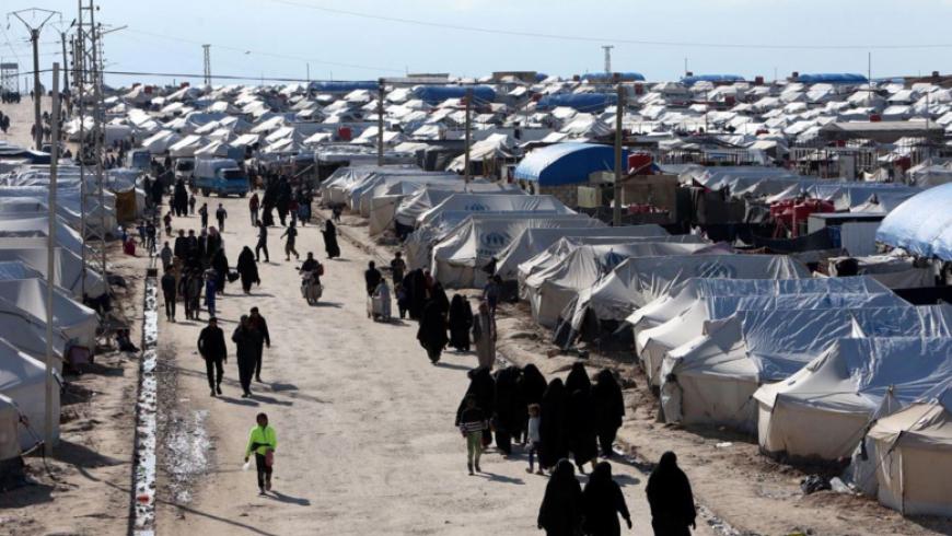 خروج أكثر من 6 آلاف شخص من مخيم الهول بريف الحسكة