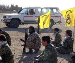 الحرس الثوري الإيراني  يستقدم آليات جديدة من العراق لحفر أنفاق في البادية