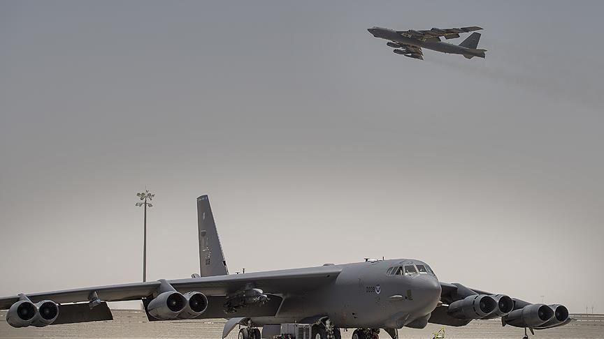 """واشنطن ترسل قاذفة """"بي 52"""" إلى الشرق الأوسط """"في مهمة طويلة"""""""