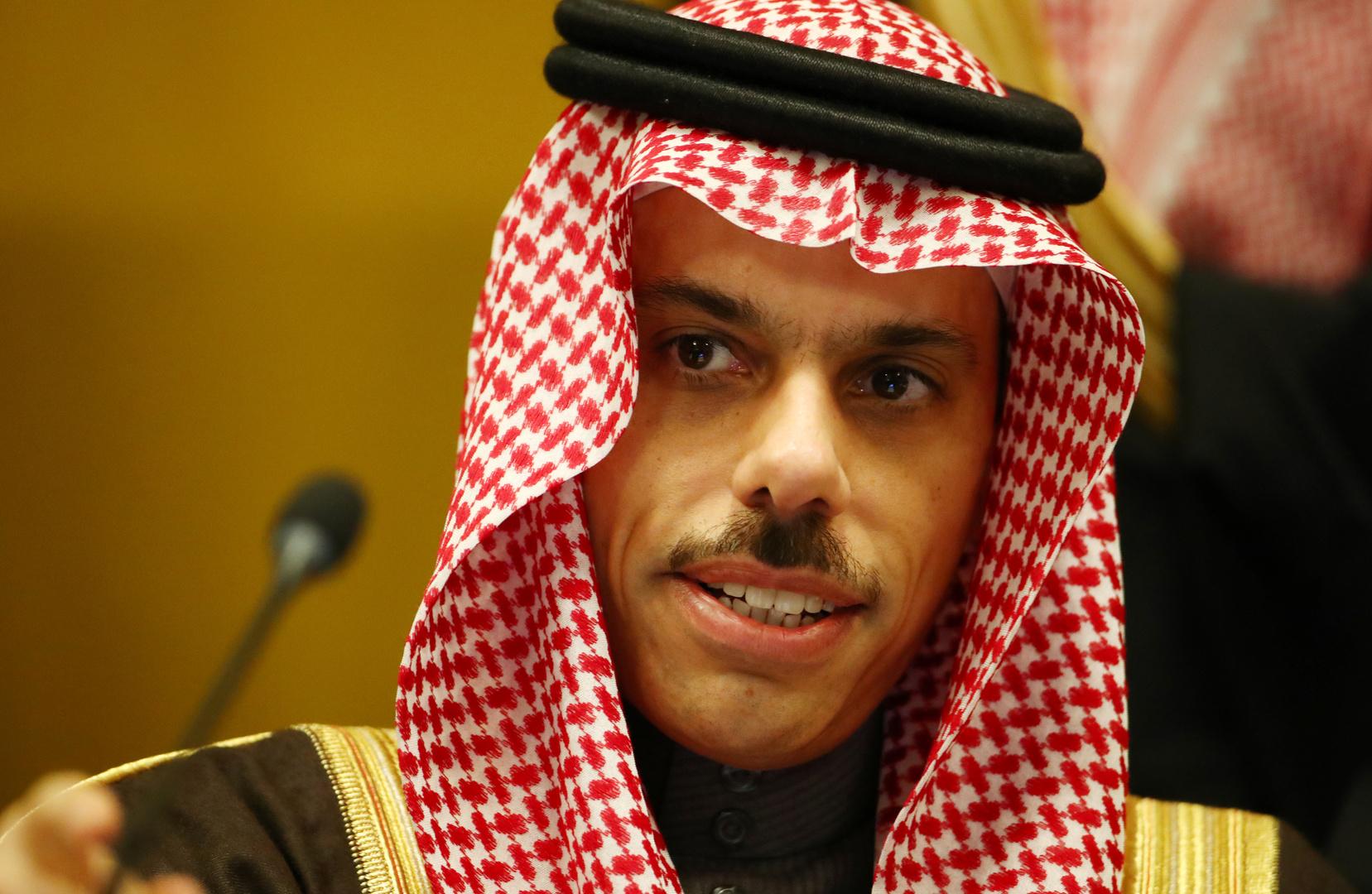 """وزير الخارجية السعودي: لدينا علاقات """"طيبة ورائعة"""" مع تركيا"""