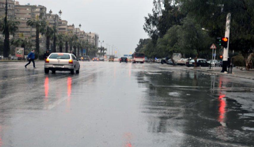 تعرف على  حالة الطقس في سوريا حتى نهاية الأسبوع