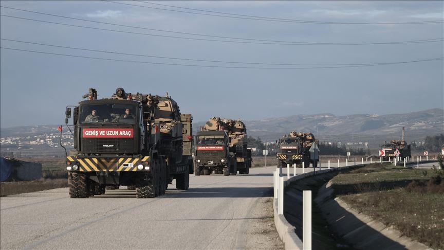 وصفت بالأضخم..تركيا ترسل تعزيزات عسكرية جديدة إلى جبل الزاوية