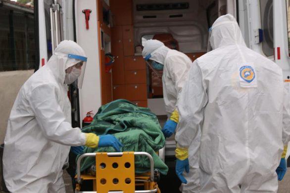 الدفاع المدني يعلن عن 13 وفاة بفيروس كورونا شمال سوريا