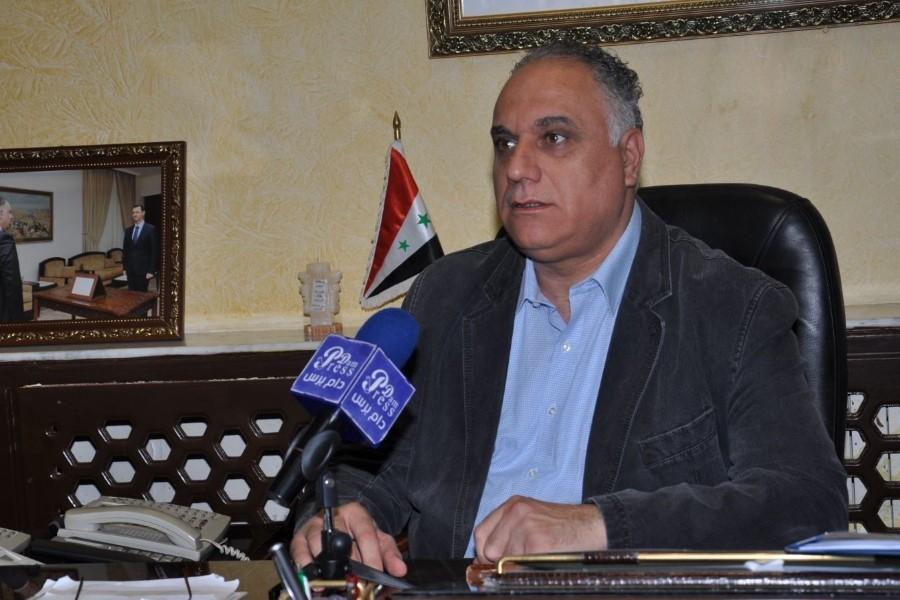 وزير تجارة النظام  يطالب تجار حلب بالمساهمة في تخفيف الضغط المعيشي عن المواطنين