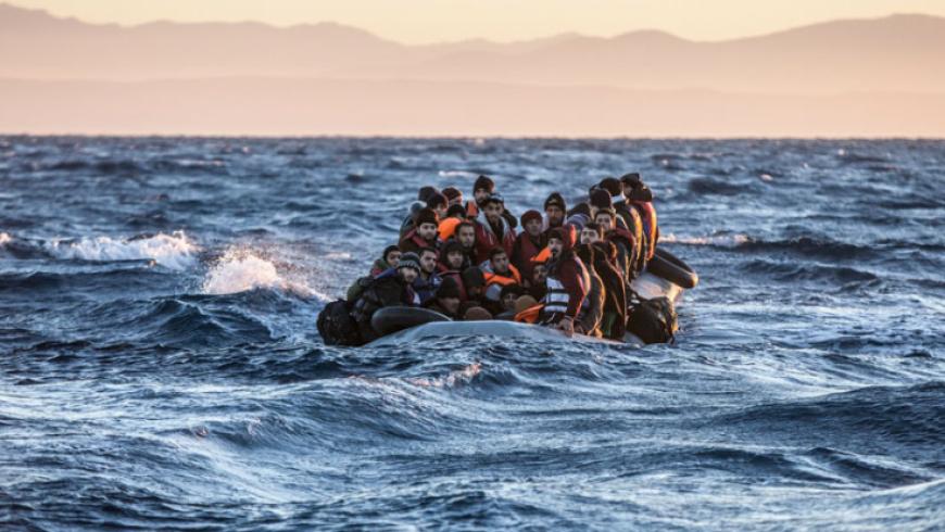 خفر السواحل اليوناني يضبط 13 مهاجرا سوريا