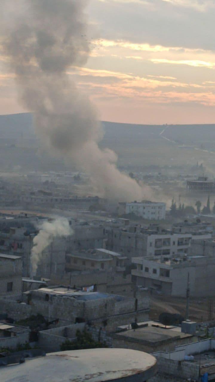 قتيلان وعشرات الوجرحى في انفجار سيارة مفخخة في مدينة عفرين