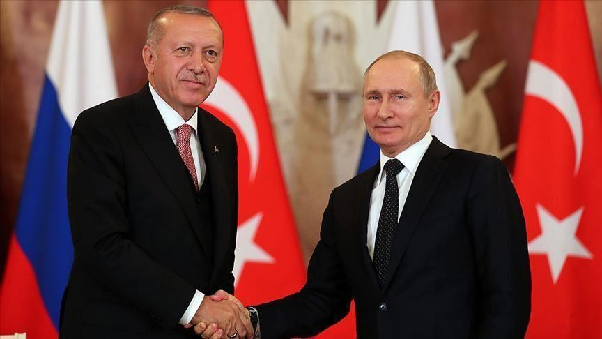 "أردوغان وبوتين يبحثان ملفات سوريا وليبيا و""قره باغ"" في اتصال هاتفي"