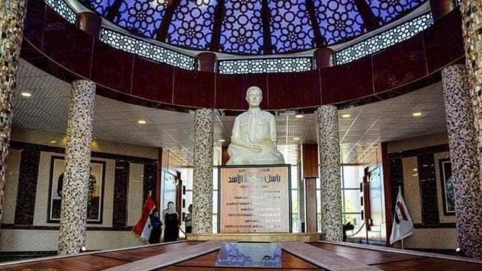صحيفة توجه انتقادات حادة لبشار الأسد بعد صرفه الملايين على متحف  لشقيقه باسل