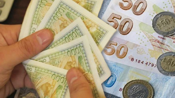 تراجع  جديد لليرة أمام  العملات الأجنبية  في تداولات اليوم الأربعاء