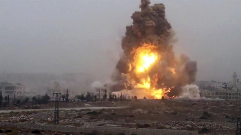 انفجار خط نفط في الحسكة...وقوات التحالف تفرض طوقاً أمنياً